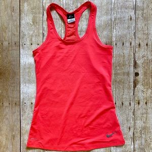 4/$20 Nike Dri-fit racerback perforated tank top